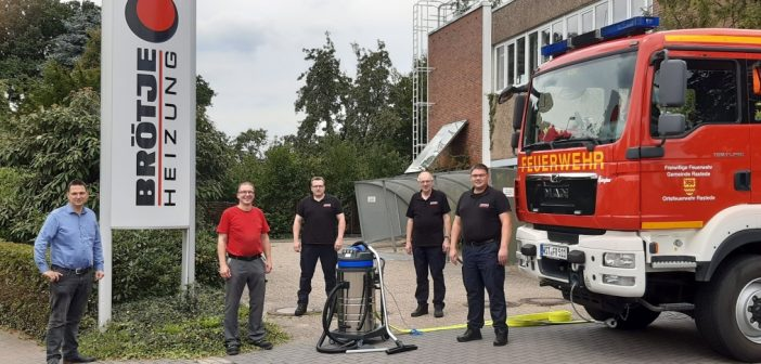 Brötje-Spende für die Feuerwehr