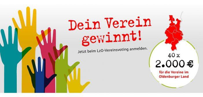 """""""Dein Verein gewinnt"""": LzO startet Vereinsvoting"""