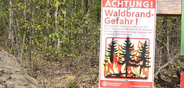 Hohe Waldbrandgefahr im gesamten Landkreis
