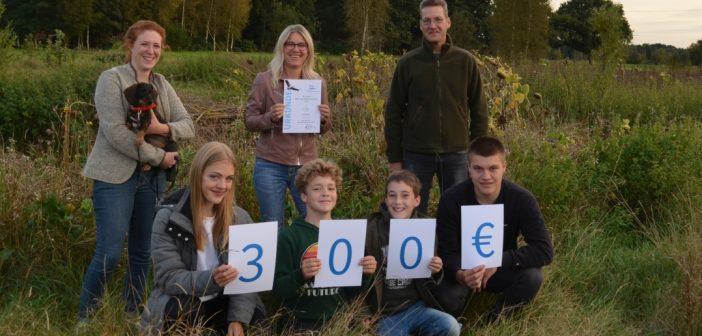 Falkenaugen gewinnen mit Naturschutzprojekten